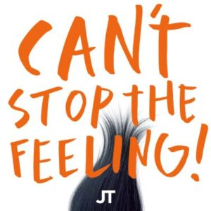 Justin Timberlake - CANT STOP THE FEELING Single Artwork