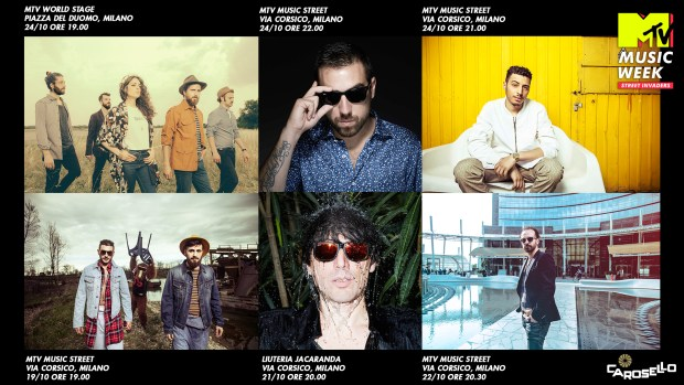 Artisti Carosello-MTV.MusicWeek