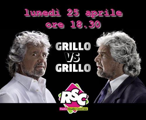 Beppe Grillo - Radio Studio Centrale Catania